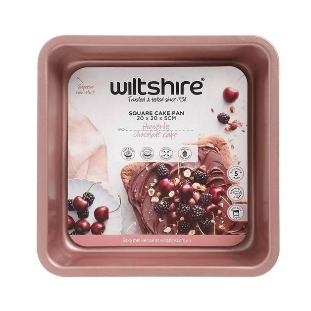 Wiltshire: Rose Gold Square Cake Pan (20cm)