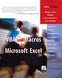 VBA and Macros for Microsoft Excel by Bill Jelen