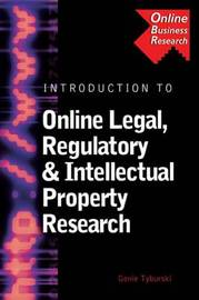 Introduction to Online Legal, Regulatory and Intellectual Property Research by Genie Tyburski image