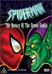 Spider-Man - Return of the Green Goblin on DVD