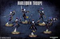 Warhammer 40,000 Eldar Harlequin Troupe