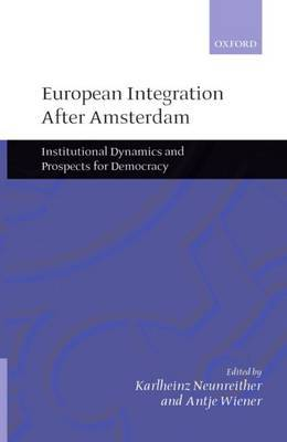 European Integration after Amsterdam