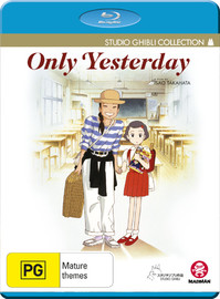 Only Yesterday on Blu-ray