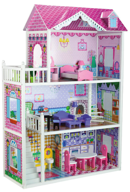 Large Doll House With Furniture Toy At Mighty Ape Nz