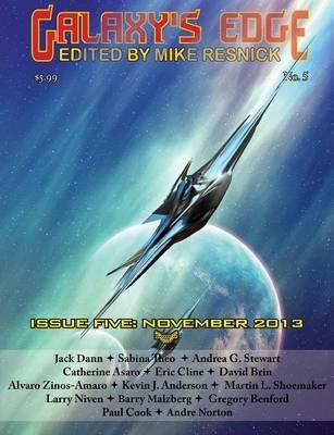 Galaxy's Edge Magazine by David Brin image