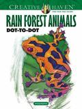 Creative Haven Rain Forest Animals Dot-to-Dot by Arkady Roytman