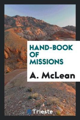 Hand-Book of Missions by A McLean image