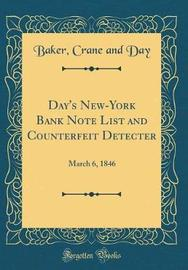 Day's New-York Bank Note List and Counterfeit Detecter by Baker Crane and Day image