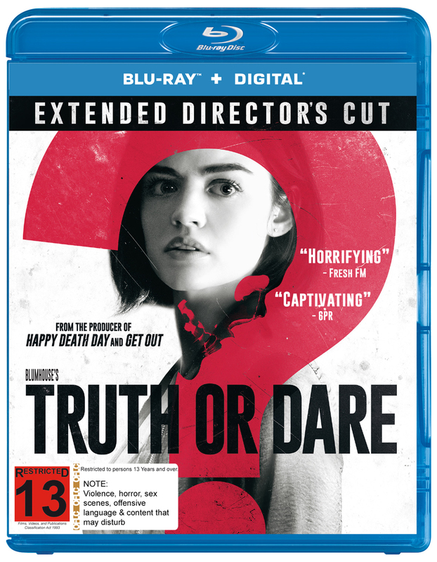 Blumhouse's Truth Or Dare on Blu-ray