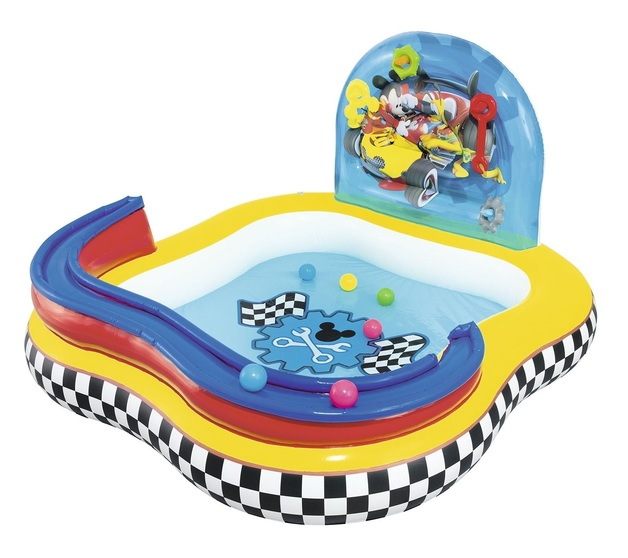 Bestway: Mickey's Roadster Racers - Gearwheel Play Center