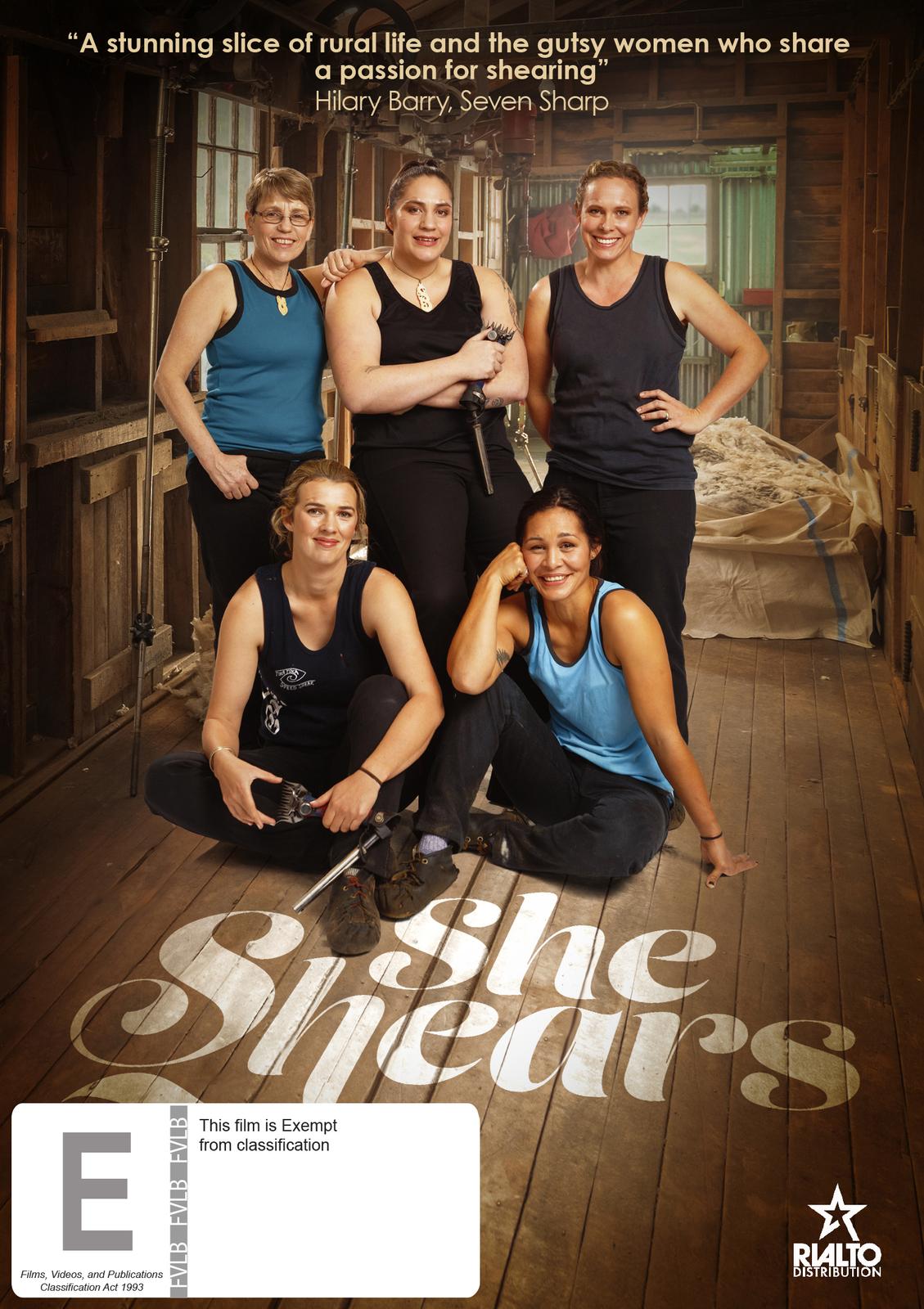 She Shears on DVD image