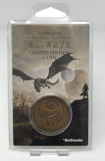 Elder Scrolls Skyrim: Collectable Coin - Elsweyr image