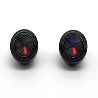 True Wireless Bluetooth 5.0 In-Ear Earphones - Black