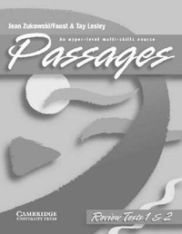 Passages Review Tests: An Upper-level Multi-skills Course by Jean Zukowski-Faust image