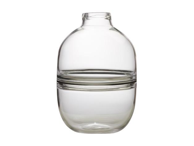 Maxwell & Williams: Flourish Orbit Vase - Clear