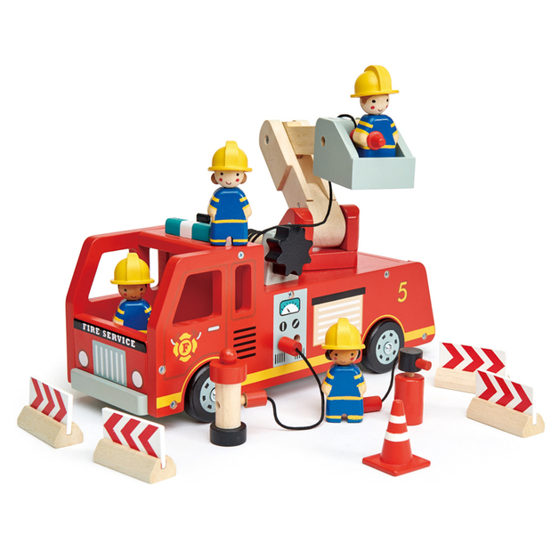Tender Leaf Toys: Fire Engine