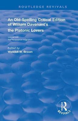 William Davenant's The Platonic Lovers