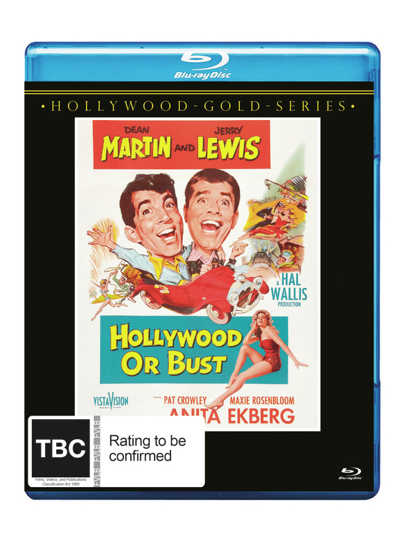 Hollywood Or Bust on Blu-ray