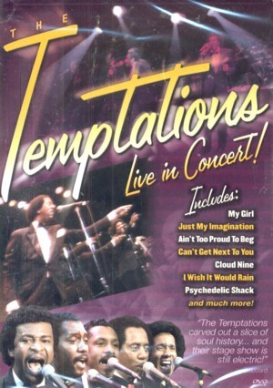 The Temptations - Live In Concert on DVD