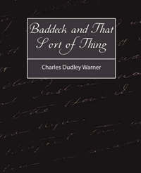 Baddeck and That Sort of Thing by Charles Dudley Warner image