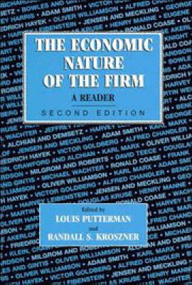 The Economic Nature of the Firm: A Reader image
