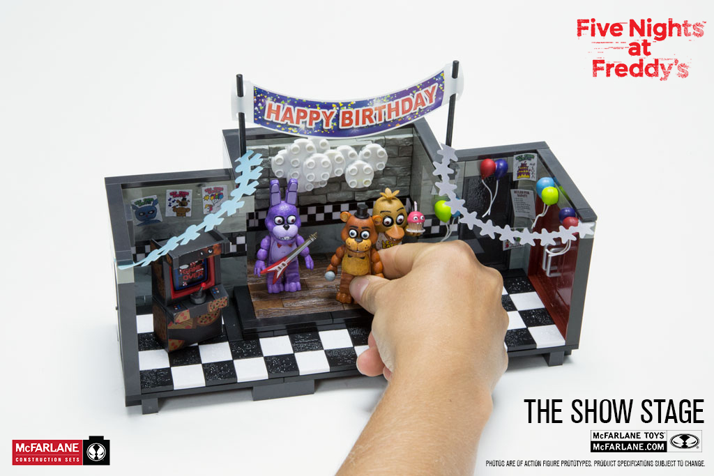 Five Nights At Freddy S Show Stage Construction Set At