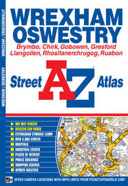 Wrexham Street Atlas by Geographers A-Z Map Company