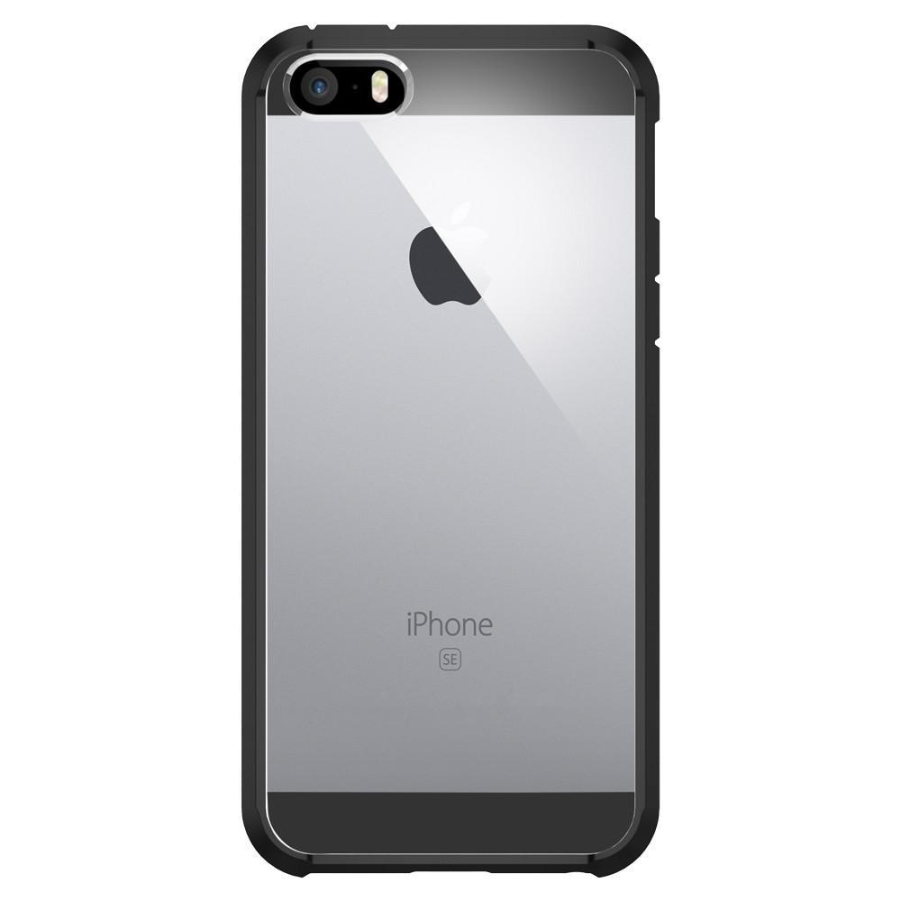 Spigen: iPhone SE/5s/5 Ultra Hybrid Case (Black) image
