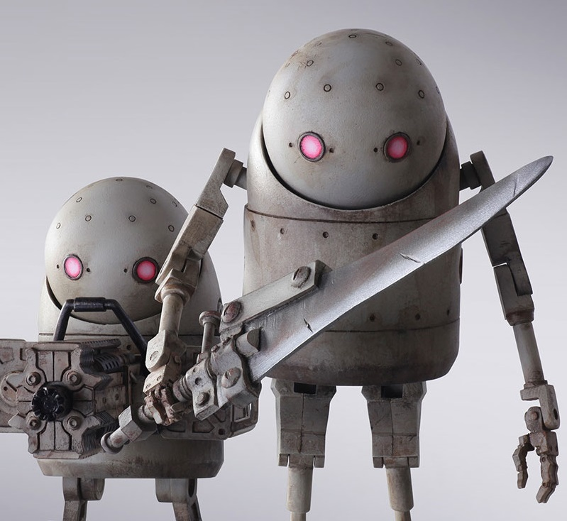 Nier: Automata: Machine Lifeforms - Bring Arts Figure Set image
