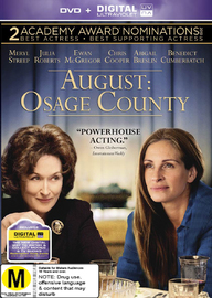 August: Osage County on DVD