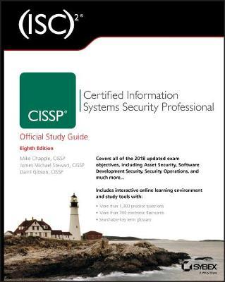 (ISC)2 CISSP Certified Information Systems Security Professional Official Study Guide by Mike Chapple image
