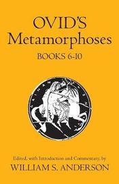 Ovid's Metamorphoses: Bks 6-10 by Ovid image