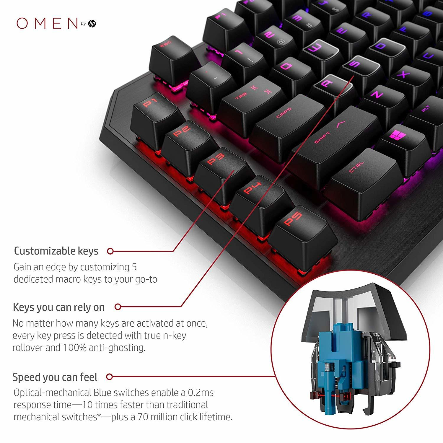 OMEN Sequencer Mechanical Gaming Keyboard for PC image
