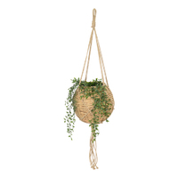 Nala Hanging Rattan Planter Basket – Small