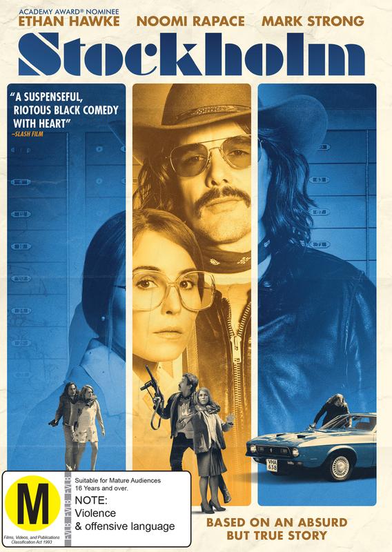 Stockholm on DVD