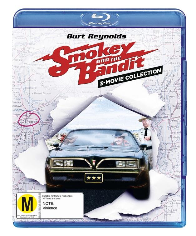 Smokey And The Bandit Trilogy on Blu-ray
