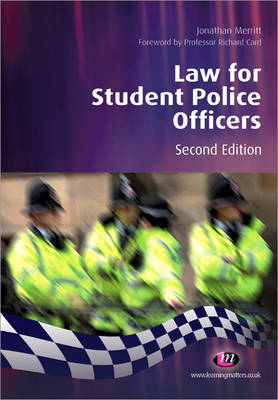 Law for Student Police Officers by Jonathan Merritt image