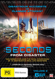 Seconds From Disaster - Volume 2 on DVD