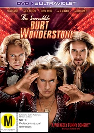 The Incredible Burt Wonderstone on DVD