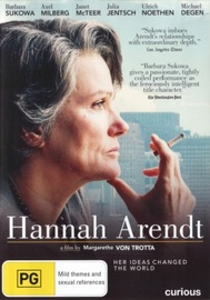 Hannah Arendt on DVD