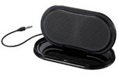 Sony Portable Speakers SRSTP1B Featuring a  compact design with built-in speaker stand