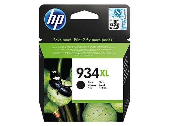 HP 934XL Black High Yield Ink Cartridge