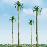 JTT: H0 Scale Palm Trees - 3 Pack