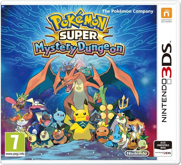 Pokemon Super Mystery Dungeon for 3DS