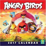 Angry Birds 2017 Square Wall Calendar by Rovio