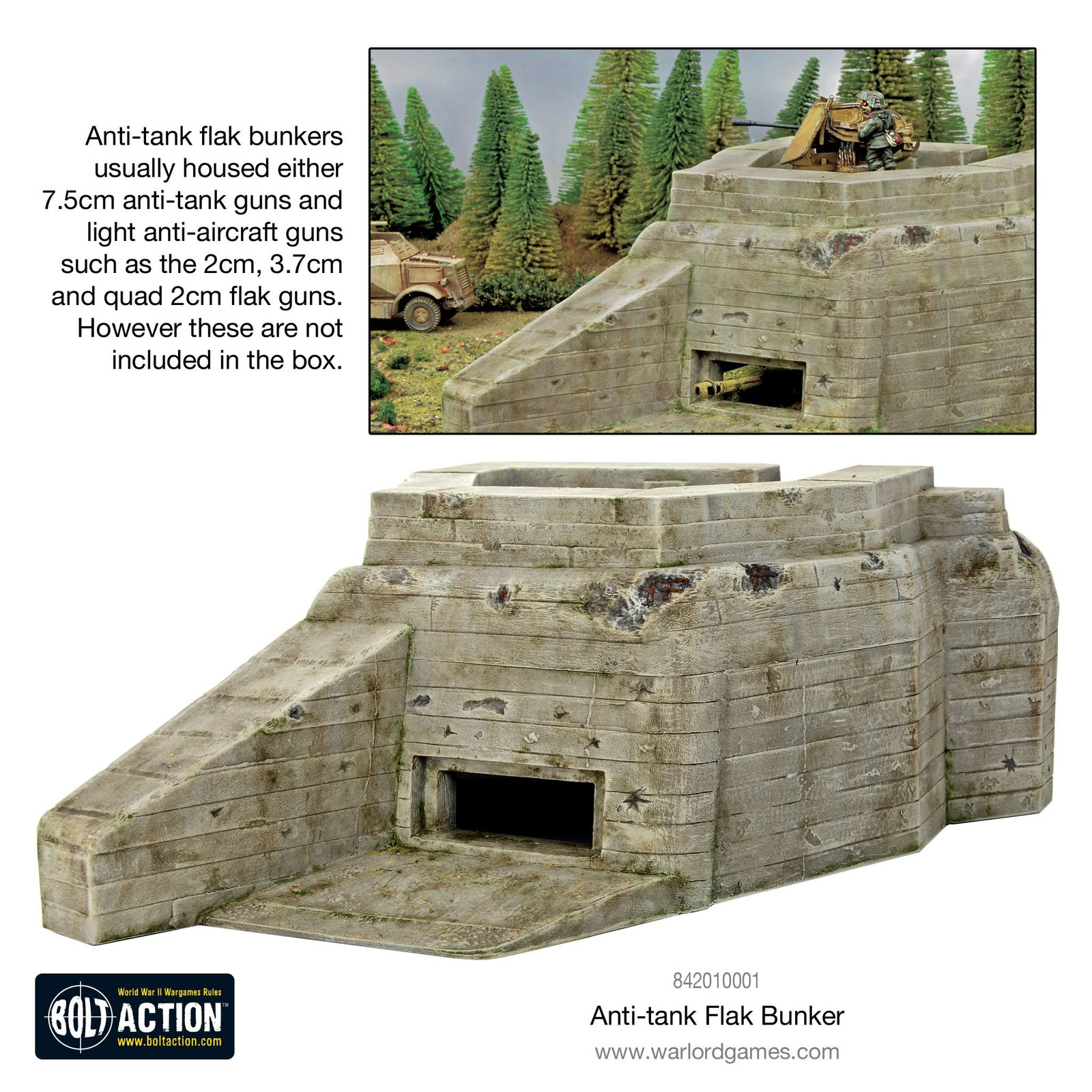Bolt Action: Flak Bunker image
