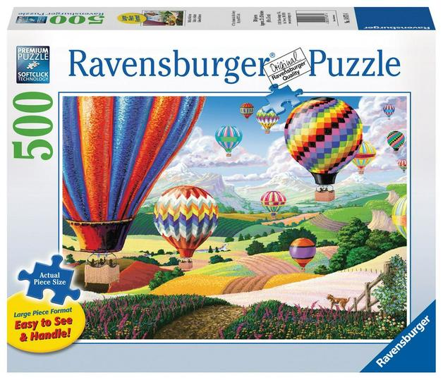 Ravensburger – Brilliant Balloons Lge Form Puzzle 500pc