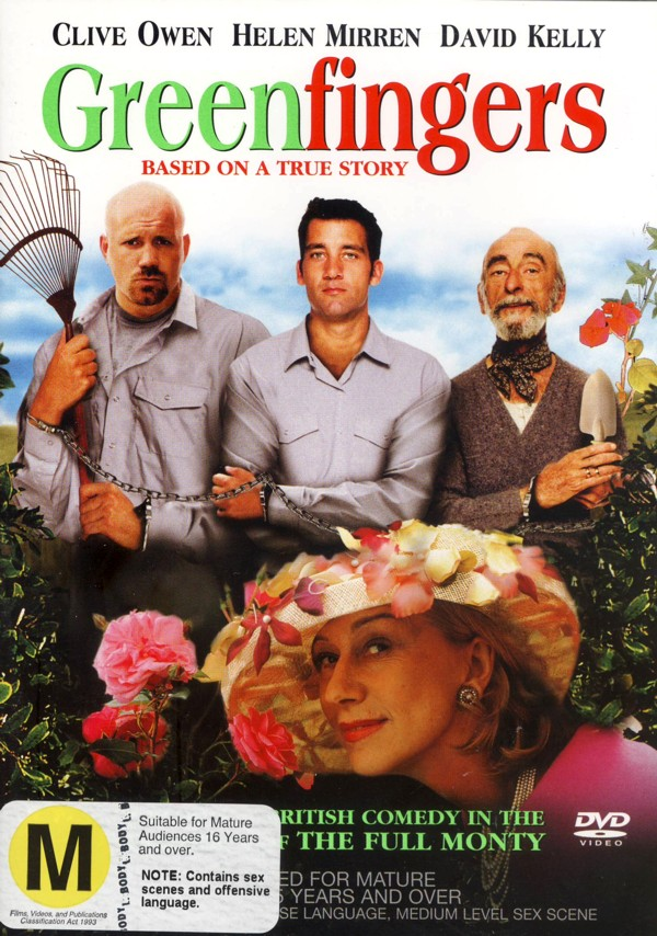 Greenfingers on DVD image