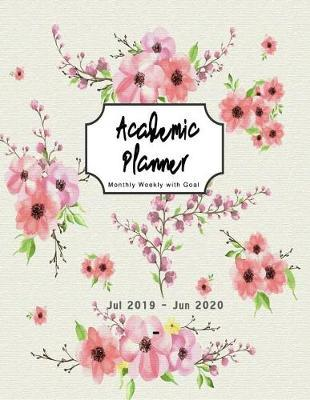 Jul 2019 - Jun 2020 Academic Planner by Chic Cool