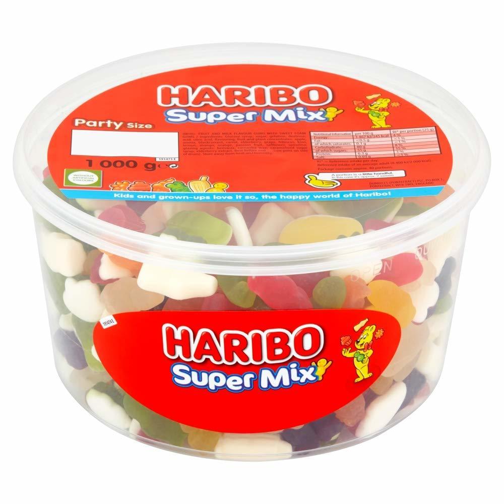 Haribo Supermix Sharing Drum (1kg) image